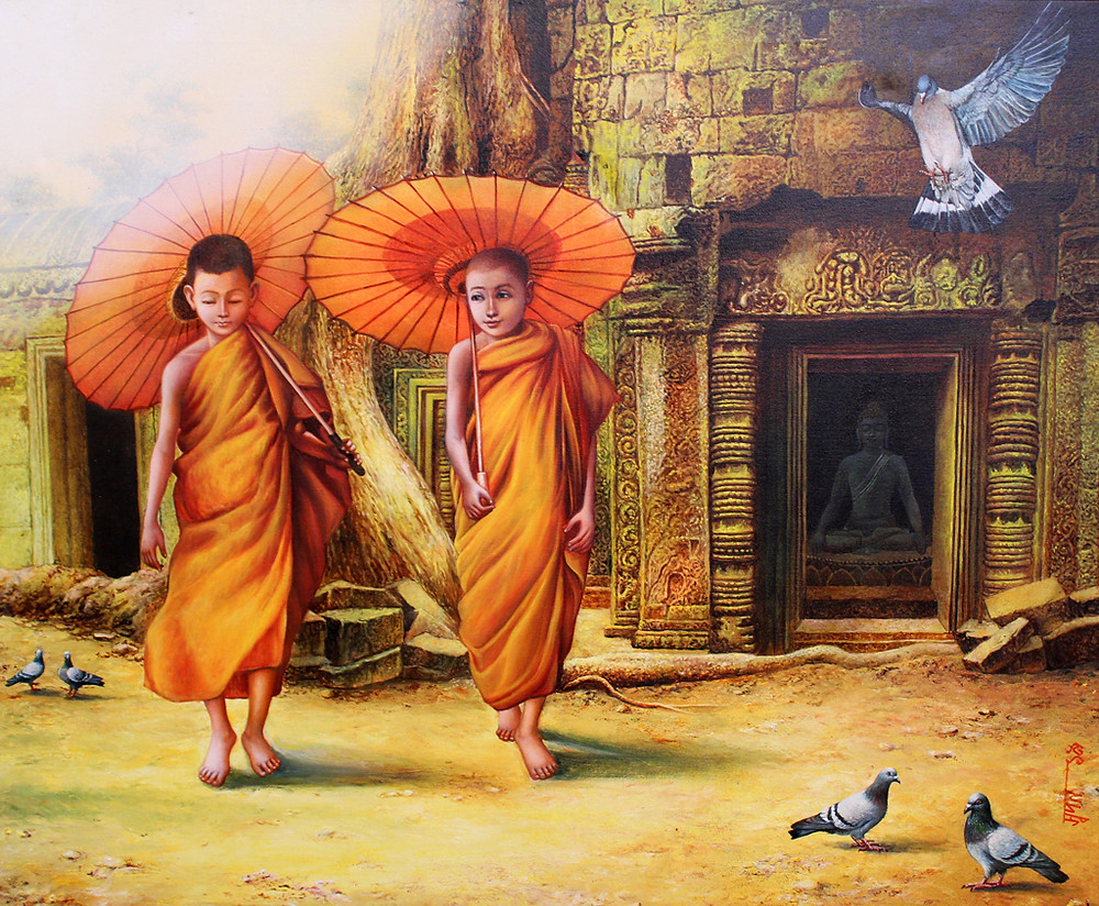 Buddhism Painting in Indian art