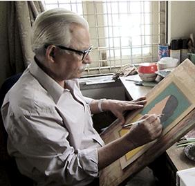 artist Lalu Prasad Shaw