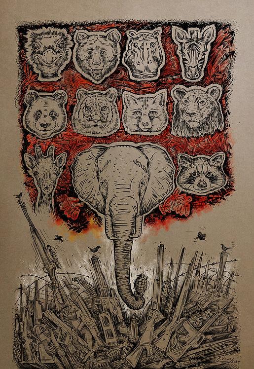 Print - Wildlife Conservation -1