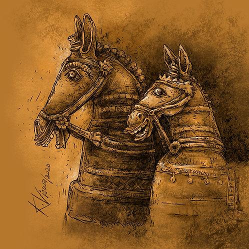 Votive Horses - 5