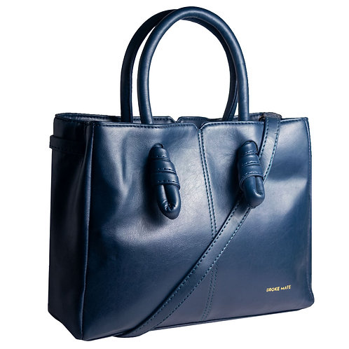 BrokeMate - Sunday Knot Handbag (Blue)