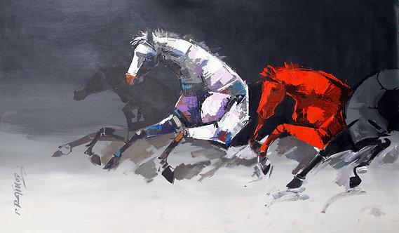 Prabhu Rathod - Running horses
