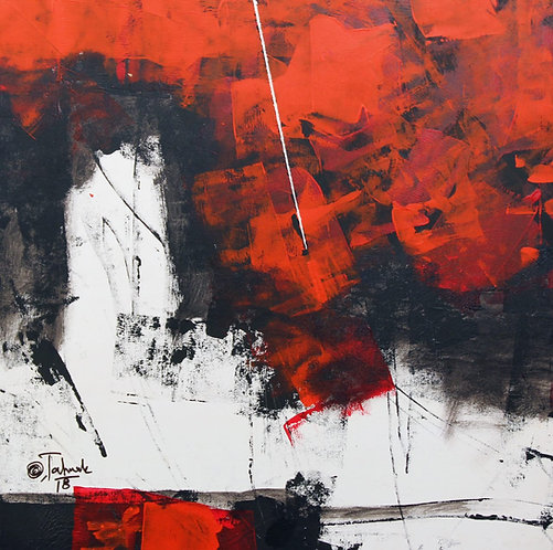 Sudhir Talmale - RED Abstract -2