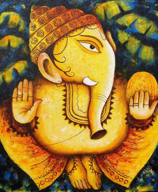 Lord Ganapati-IX