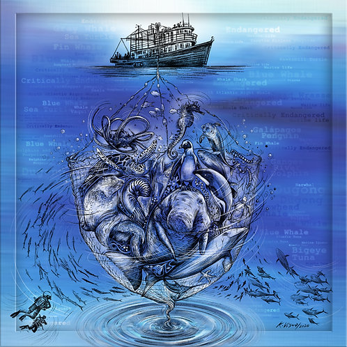 Print - Marine life conservation