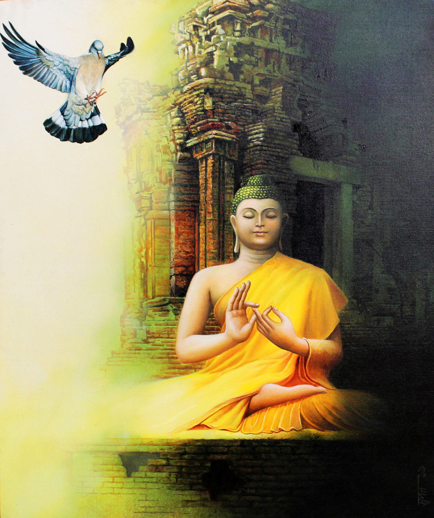 Budhha Painting in Indian Art