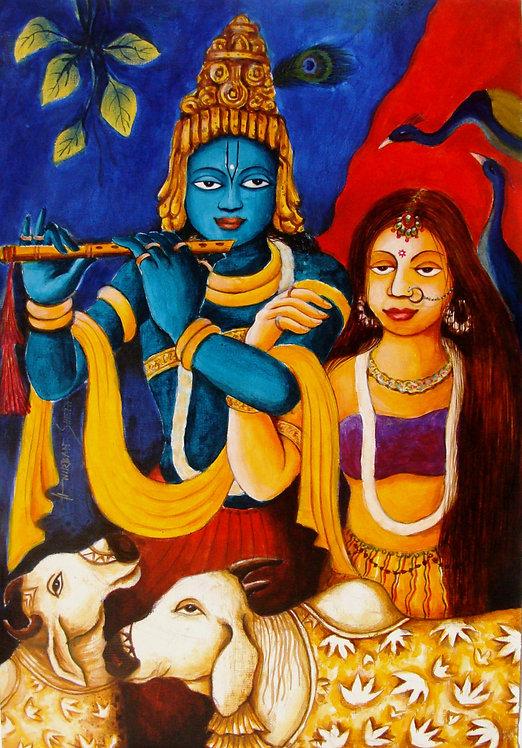 Lord Krishna VI
