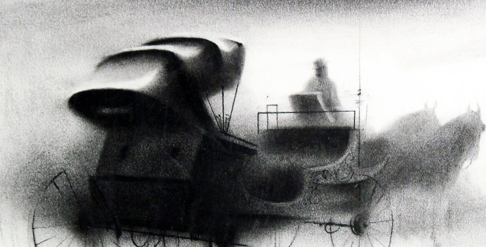 famous charcoal paintings