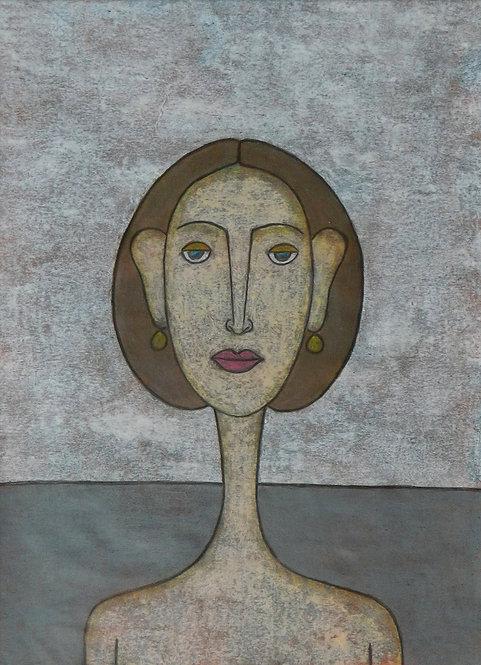 Woman figurative painting
