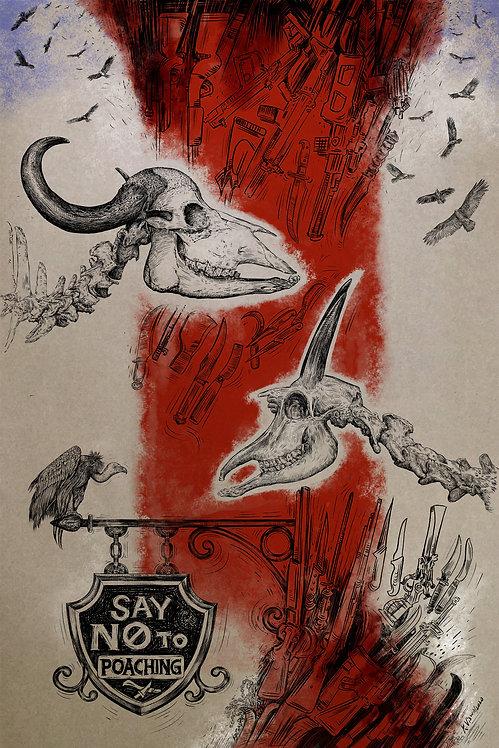 Print - Say no to poaching