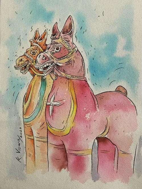 votive horses - 6