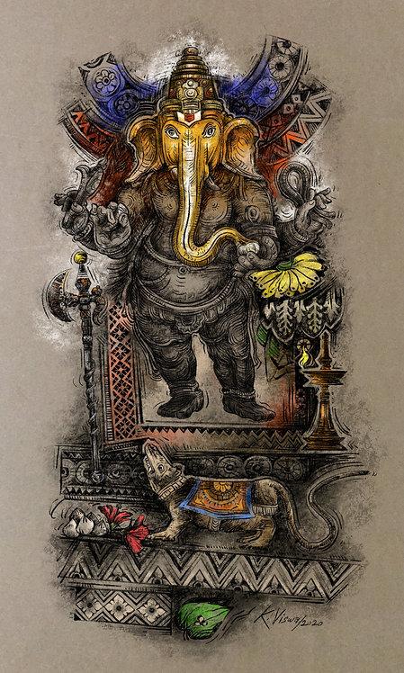 K Vishwanathan - Ganesha