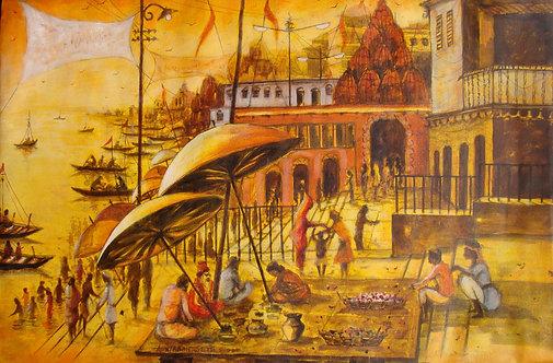 Vibrant Ghats of Varanasi-III