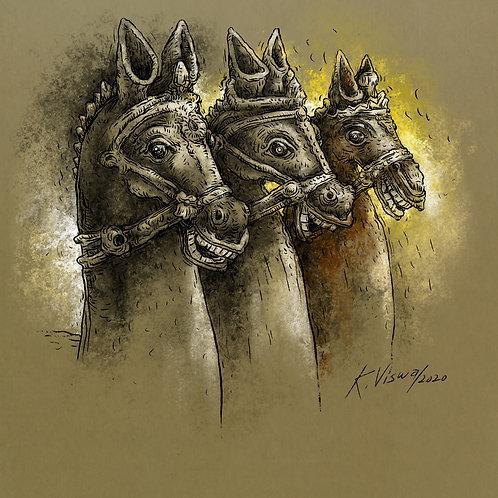 Votive Horses - 4