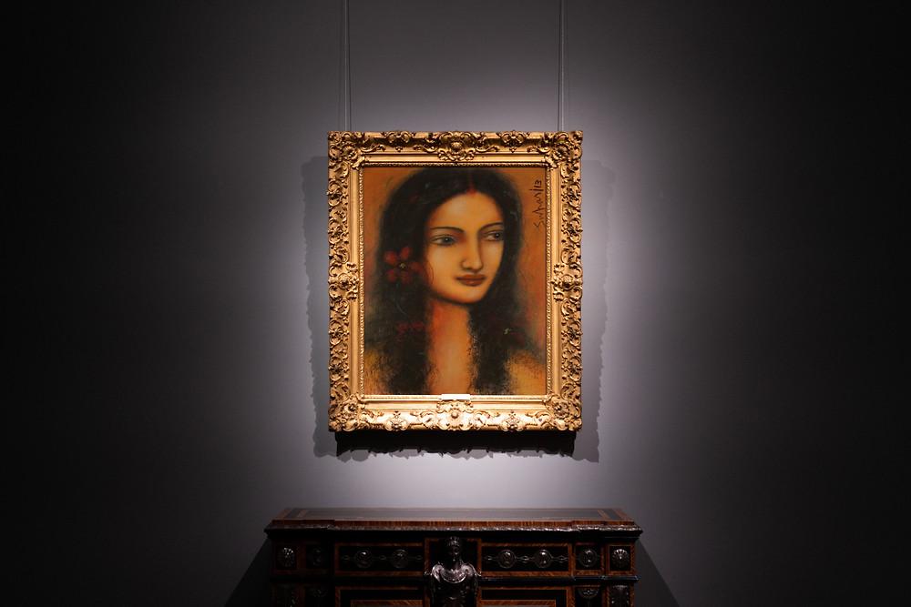 famous portrait artist