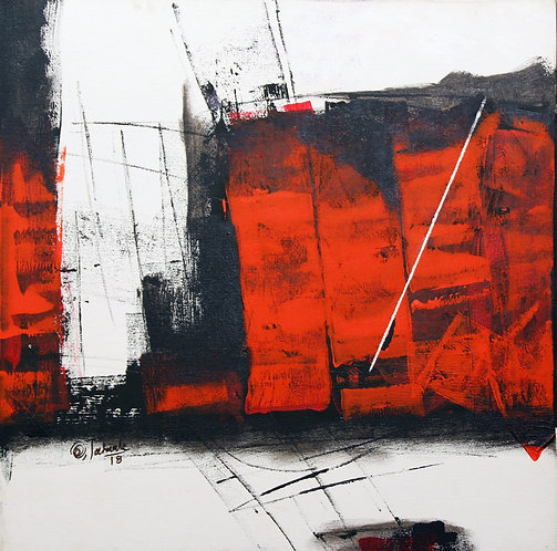 Sudhir Talmale - RED Abstract - 3