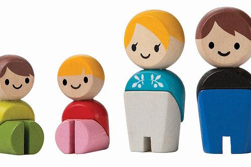 Småfigurer familj | PlanToys