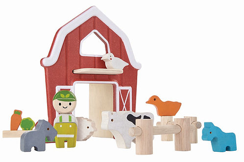 Bondgård med djur | PlanToys