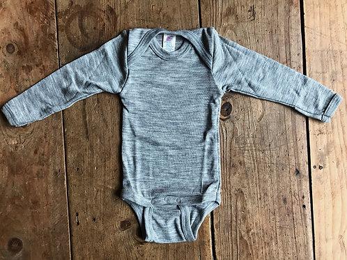 Body ullsilke grå | Engel