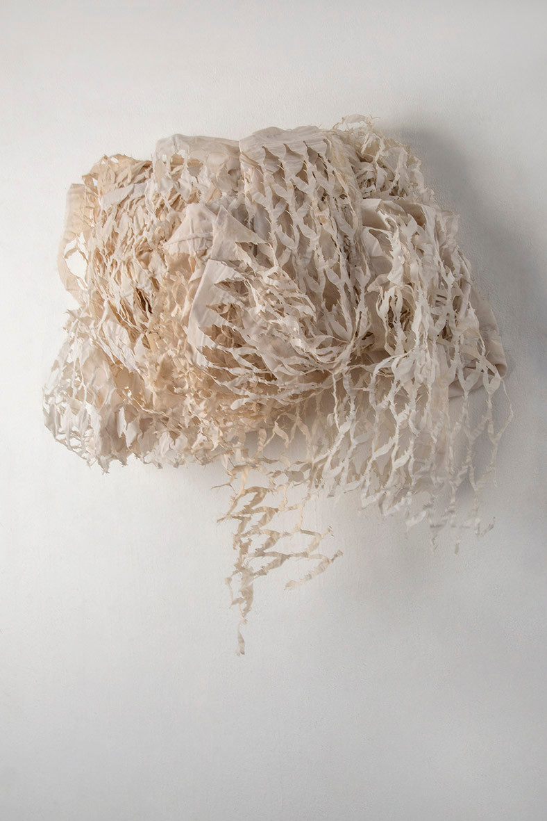 Elementals/2017/Silk Paper/95x100x27 cm