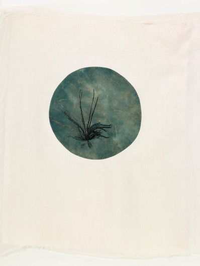 Sea/2012/Etching on paper Sewing/50x40 cm