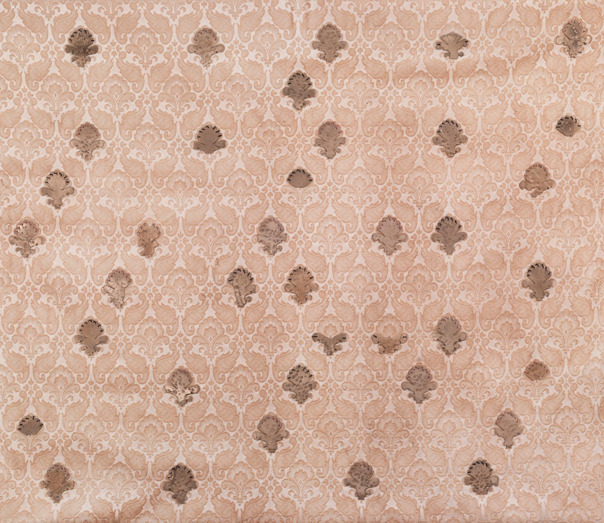 Lys flower/2014/Bronze Sewing/65x75 cm