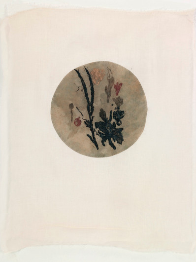 Earth/2012/Etching on paper Sewing/50x40 cm