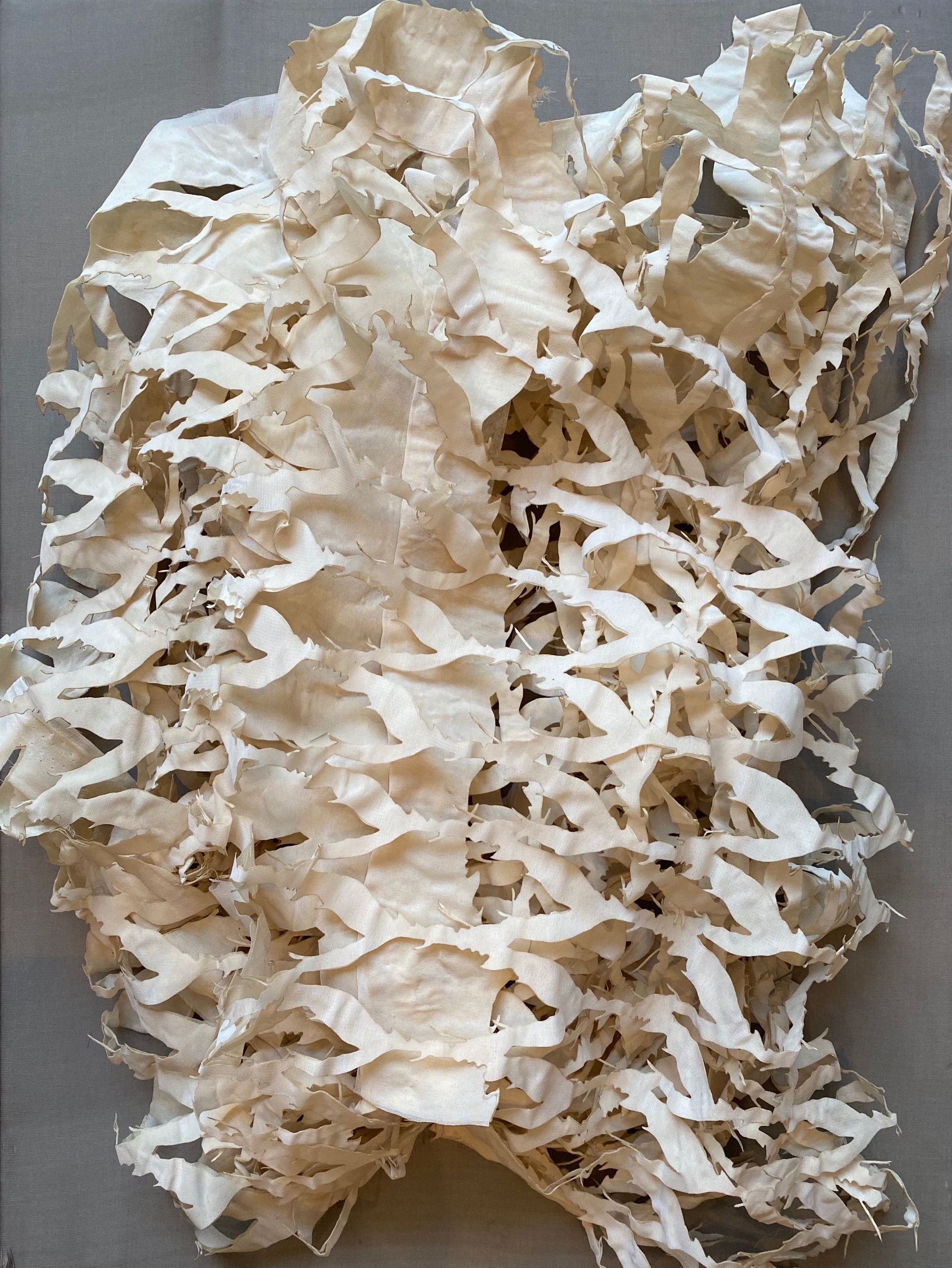 Paper Sculpture Series I/2020/Mixed techniques on paper/60x45 cm