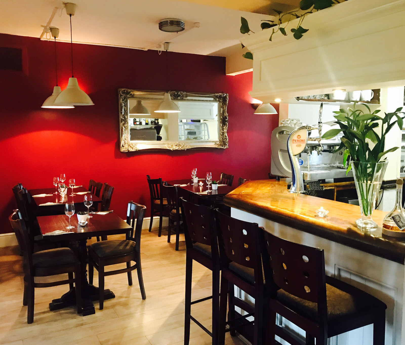 Dining Out at the Sera Cafe Bistro on Buxton Road in Staffordshire