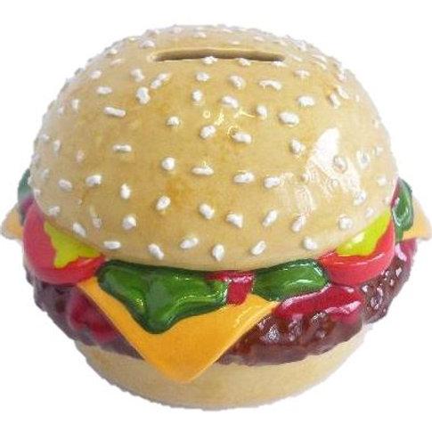 Burger Money Bank (Unpainted)