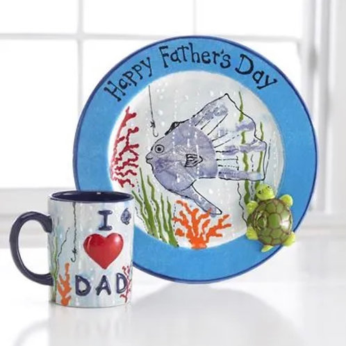 Father's Day Pottery Package (Unpainted)