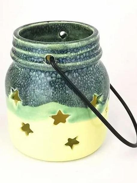 Small Star Jar Lantern (Unpainted)