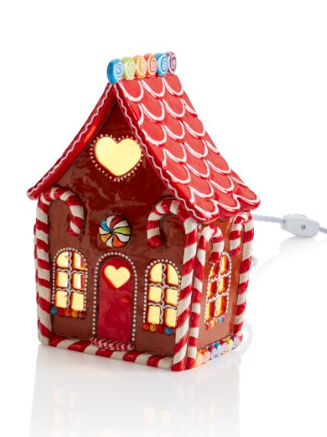 Large Gingerbread House Lantern (Unpainted)