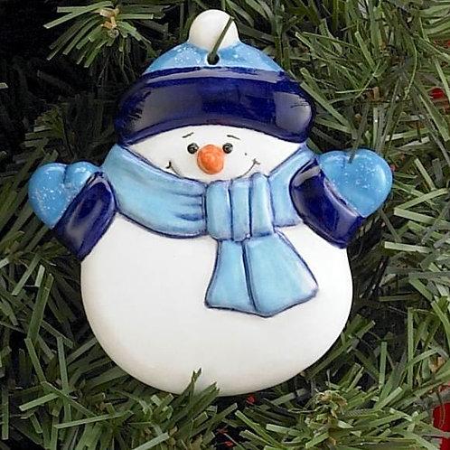 Snowman Decoration (Unpainted)