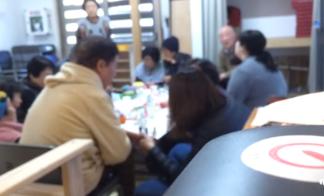 くまモンcafe2017.2.9