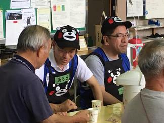 チームくまもんcafe2016.06.25今日の活動