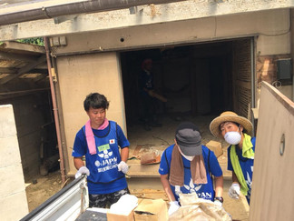 2018.8.13 西日本豪雨の支援②