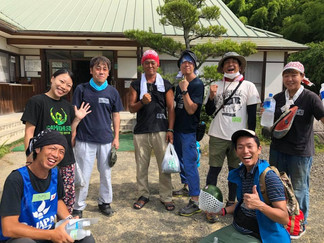 2018.7.22 西日本豪雨の支援①