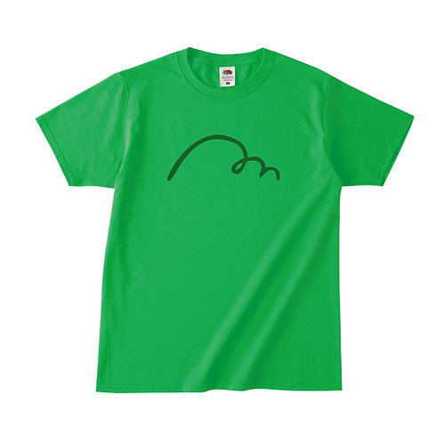 【予約販売】MAKE HAPPY Tシャツ (グリーン) (理事長就任限定カラー)