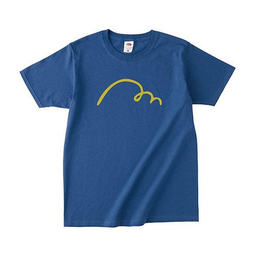 【予約販売】MAKE HAPPY Tシャツ (ブルー) (理事長就任限定カラー)