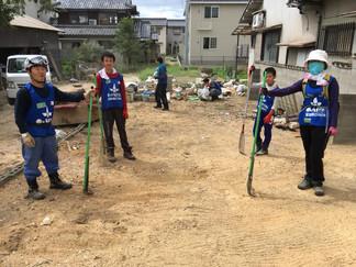 2018.8.15 西日本豪雨の支援①
