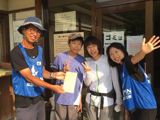 2018.8.30 西日本豪雨の支援①