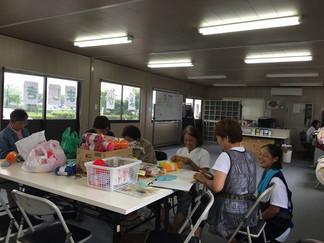 チームくまモンcafe2016.07.20 今日の活動