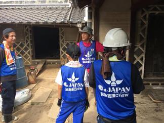 2018.8.12 西日本豪雨の支援③