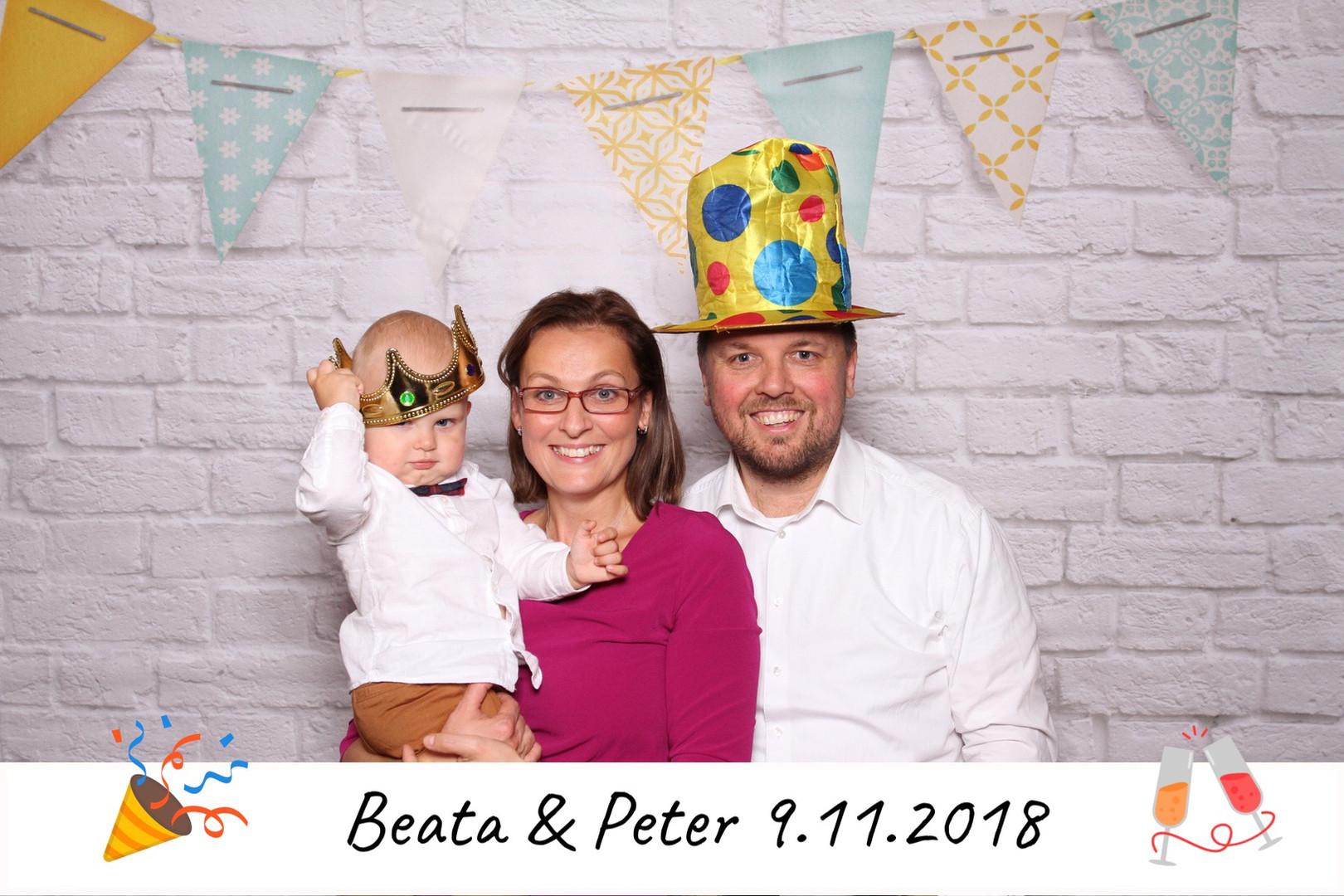 párty s fotobúdkou