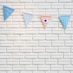 party biela stena pre deti (maly rozmer)