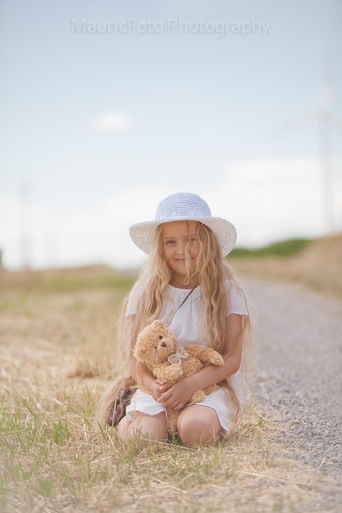 detský portrét