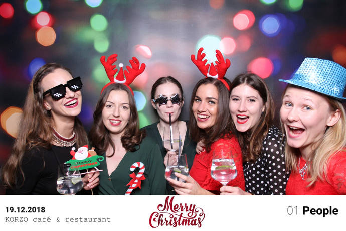 merry christmas fotoboothka