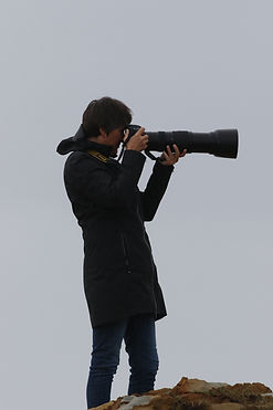 Sonia Friedrich with her Nikon D850 Camera
