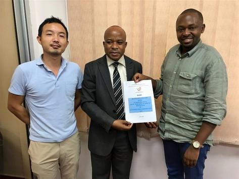 日本企業として初めてコンゴ民主共和国保健省と官民連携パートナーシップ協定を締結しました。